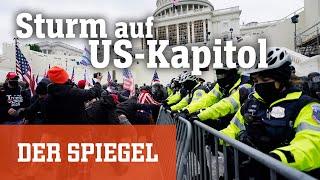 Nach Rede des US-Präsidenten: Trump-Fans stürmen das Kapitol