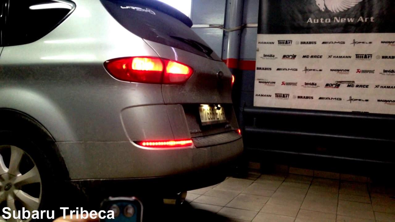 Subaru Tribeca установка вакуумного  клапана и насадок Buzzer