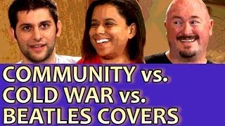 COMMUNITY vs COLD WAR vs BEATLES COVERS - The Experts Game Show #33 Round 1