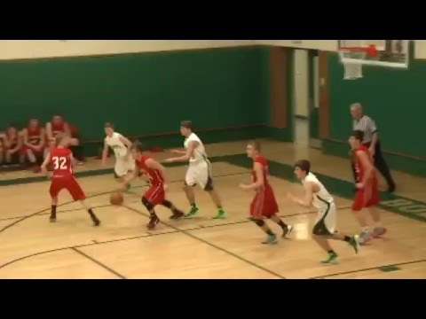 Dessureault Buzzer Beater at NAC  12-17-15