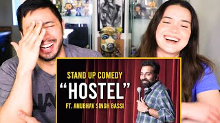HOSTEL | Anubhav Singh Bassi | Stand Up Comedy Reaction | Jaby Koay