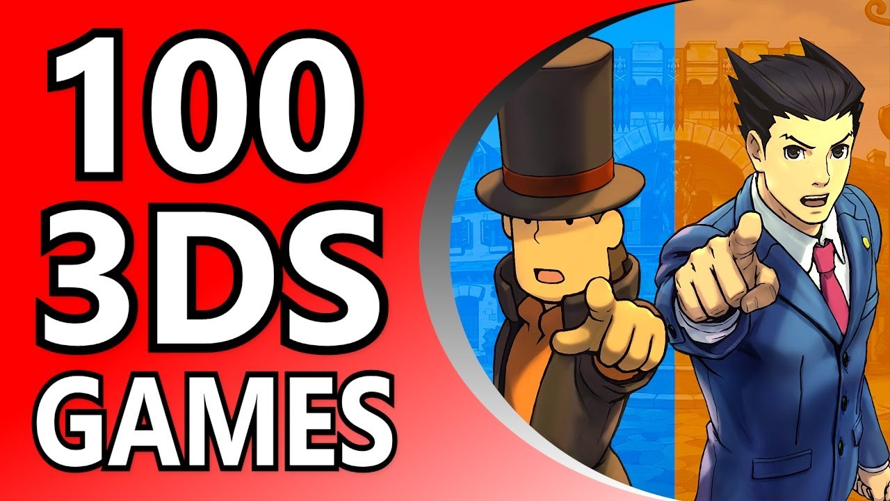 Top 100 3DS Games (Alphabetical Order)