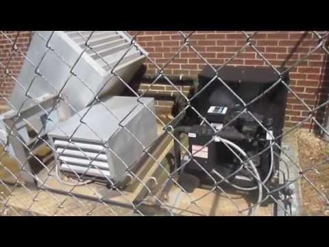 Refrigerator/Freezer Condensers at Jones Valley Elementary School