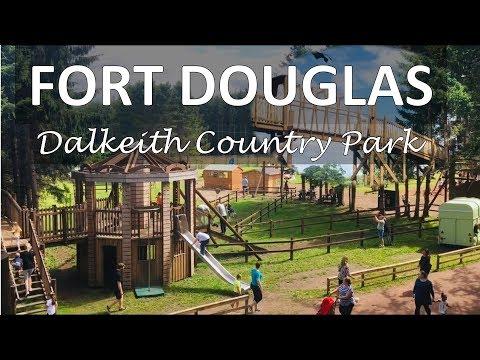 Fort Douglas Dalkeith Country Park Reviews ~ Vlog 2019
