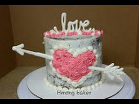 Valentine S Day Cake Cake Decorating Youtube