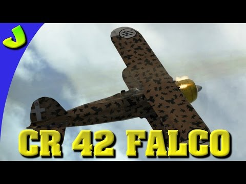 War Thunder-CR 42 Falco Realistic Gameplay (HD)