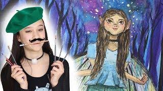 Mezelf als elfje tekenen! | Zelfportret