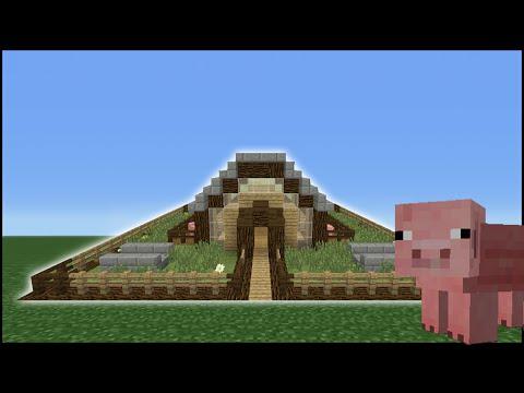 Minecraft Tutorial: How To Make A Pig Pen