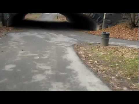 Biking in Bronx Park East