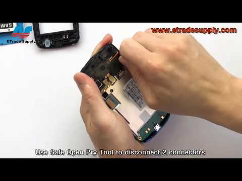 How to replace Samsung M580 keypad