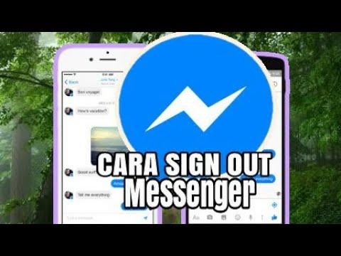 Cara Keluar/Sign Out Facebook Messenger
