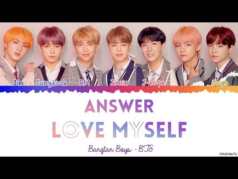 BTS (방탄소년단) – Answer : Love Myself Lyrics [Color Coded Han_Rom_Eng]