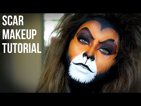 Lion King's Scar Makeup Tutorial