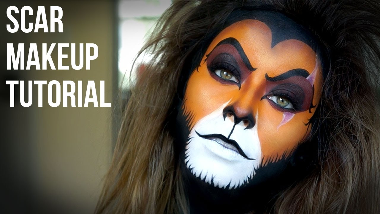 Lion King\'s Scar Makeup Tutorial - YouTube