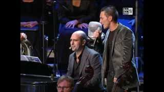 Kekko dei Modà con Checco Zalone live@Arena di Verona - Inverno a primavera (1/2) - 16.09.2012