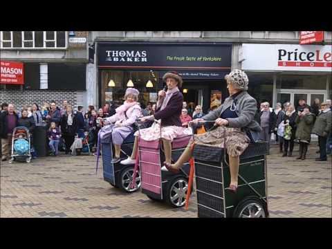 Wakefield Rhubarb Festival 2017 Granny Turismo