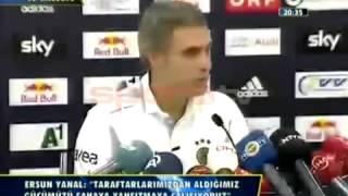 Ersun Yanal Basın Toplantısı   Salzburg 1 - 1 Fenerbahçe 31 07 2013