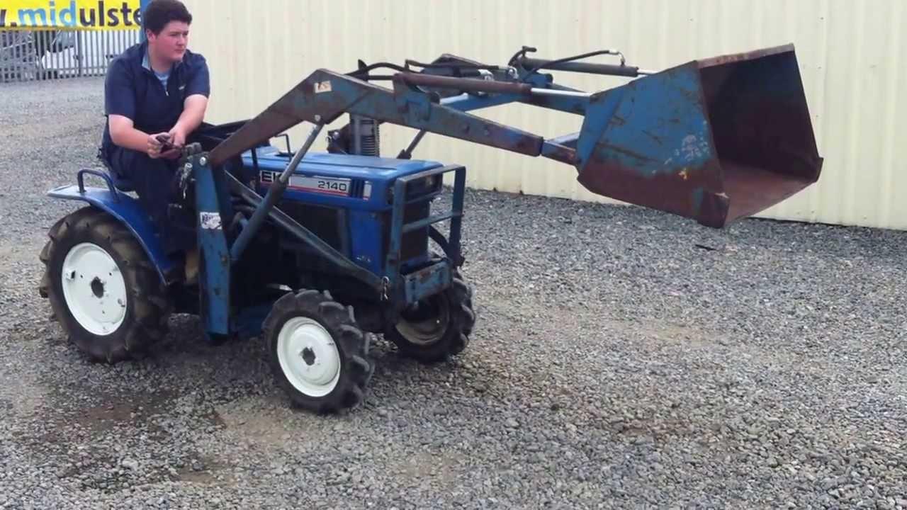 Iseki 2140 2wd Diesel Compact Tractor Youtube