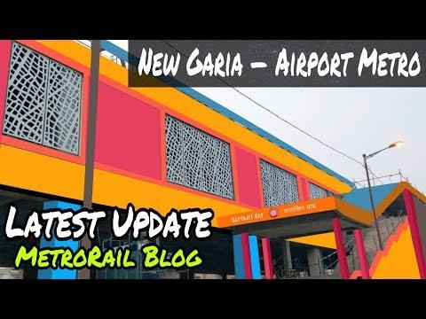 New Garia—Airport Metro Latest Update || Kolkata Metro || MetroRail Blog