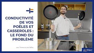 Faites le bon choix de casseroles et de poêles pour votre plaque à induction !