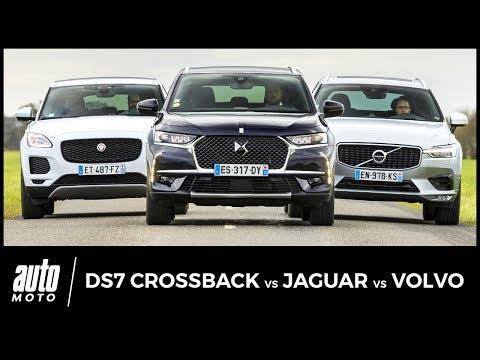DS7 Crossback vs Jaguar E-Pace vs Volvo XC60