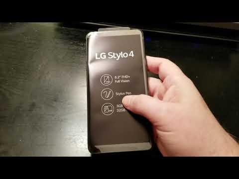 LG Stylo 4 Unboxing