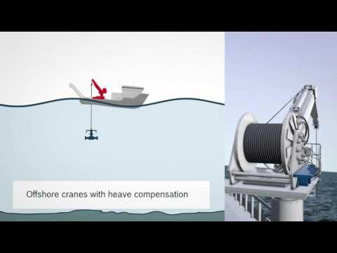 Heave Compensation for Winch Control and Deckmating