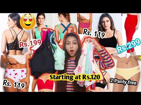 A HUGE Bra, panty👙 haul /Shyaway lingerie shopping haul | Unique kittu