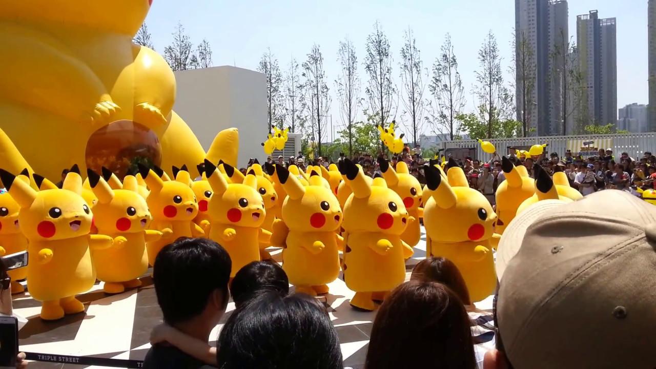 Image result for Yokohama festival pikachu 2017