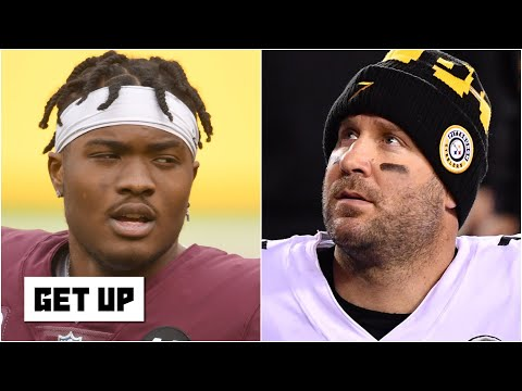 Will the Steelers try to make Dwayne Haskins the successor to Big Ben or draft a QB? | Get Up