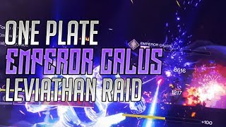 Destiny 2 - WORLDS FASTEST CALUS KILL! (ONE PLATE!) BY ROUTE
