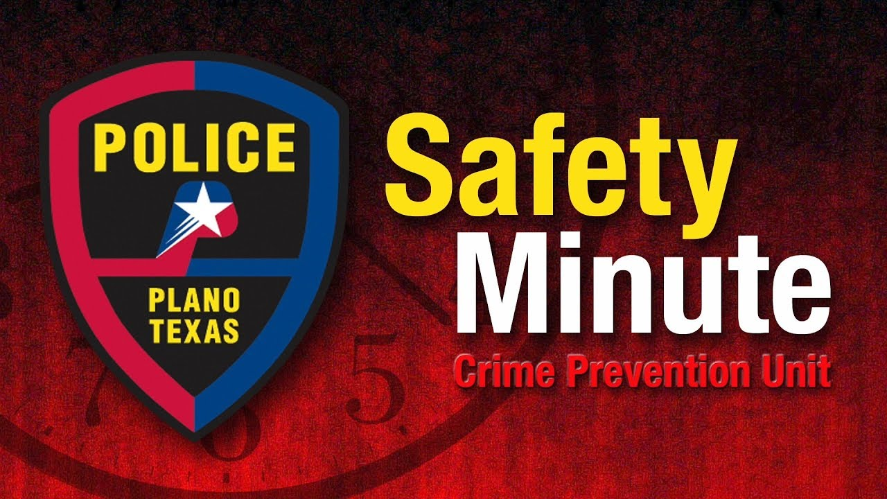 Plano Police Safety Minute - Community Crime Map