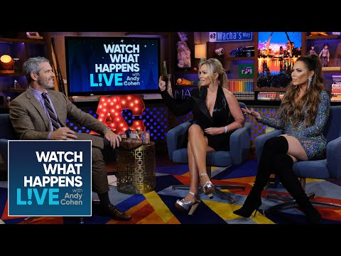 Tamra Judge's Makeout Session With Braunwyn Windham-Burke | WWHL