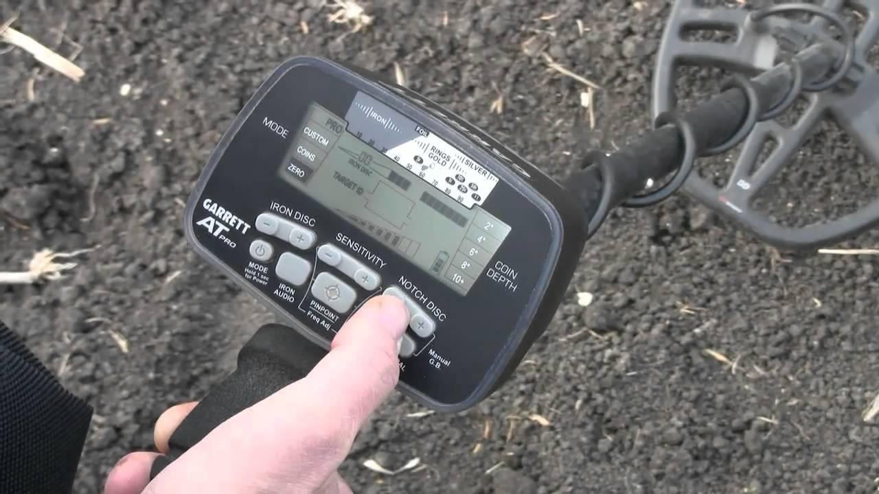 Garrett Metal Detectors AT Pro Basics Part 1 of 7