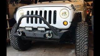 Rebuilding A Wrecked Car JEEP RUBICON (Part 9)