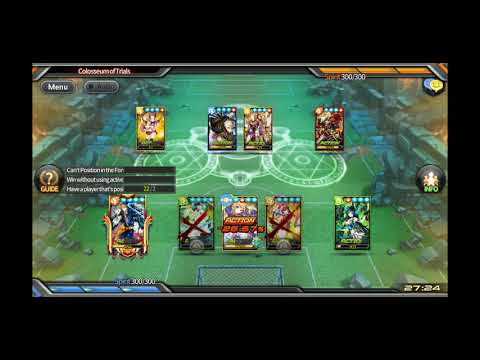 Soccer Spirits CoT 5-7 (Only Legends/LUQs from Friend Aces) [12/10]