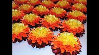 Банты на праздник осени. Галстуки-бабочки на праздник осени. Обзор готовых изделий. 003