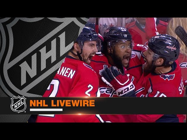 NHL LiveWire: Capitals, Golden Knights mic'd up for rousing Game 3