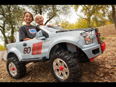 Thumbnail: Power Wheels Ford F150 Extreme Sport Unboxing - New 2015 Model!