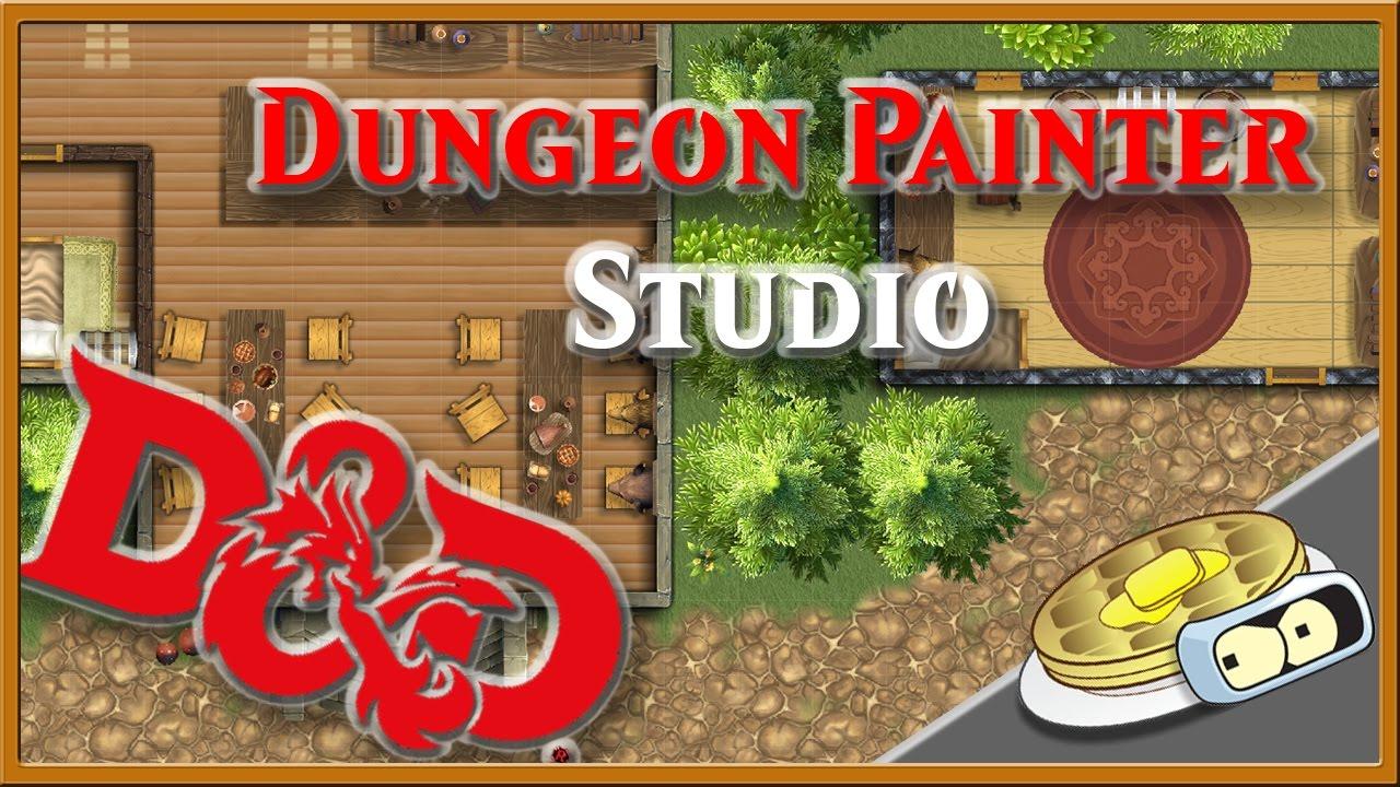 Small Town D&D Map Speed Development - Dungeon Painter Studio