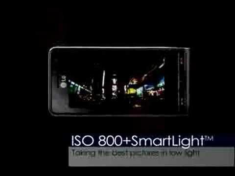 LG Viewty  camera telefoon
