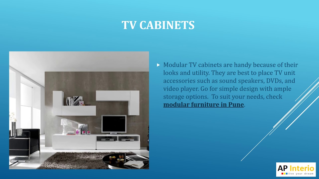 Best Way to Select TV Unit Design for Your Home - AP Interio - YouTube