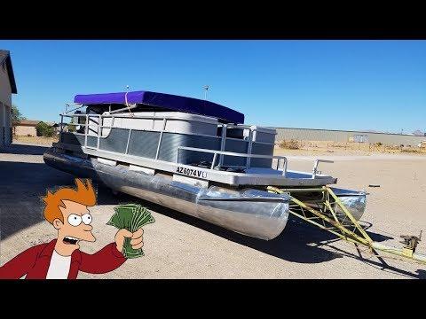 The Cost To Refurbish My Pontoon Boat (DIY)