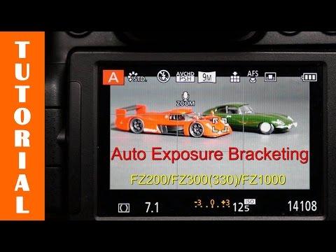 Using the Auto Exposure Bracket Mode on the Panasonic FZ200/FZ300/FZ330/FZ1000