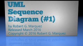 Sequence Diagram #1 Using Enterprise Architect 12 Tutorial