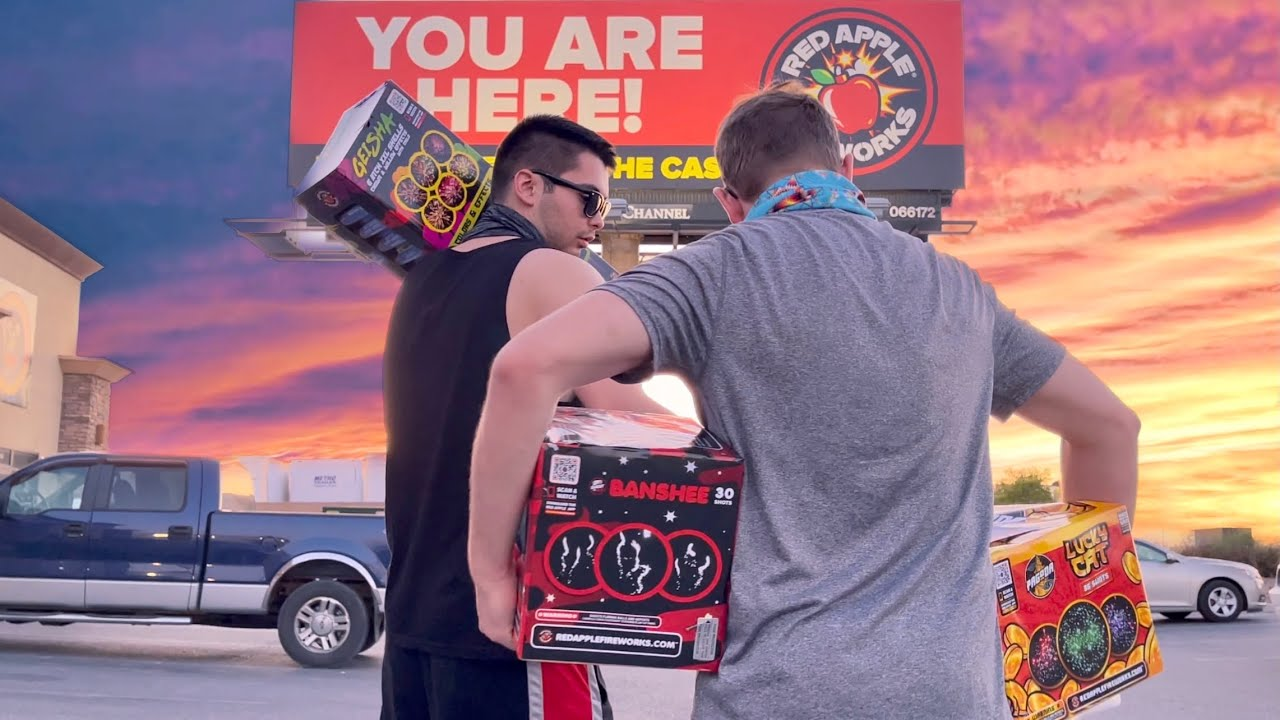 Pahrump, NV Fireworks Shopping Trip! (All Stores)
