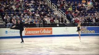 Alexa Scimeca & Chris Knierim : 2015 US Nationals Short Program