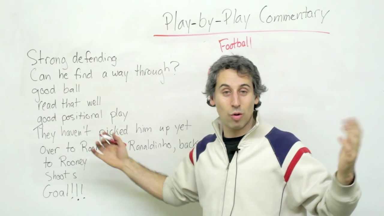 Listening Comprehension - Understand Sports on TV!