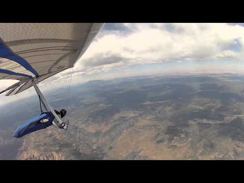 Mingus to Meteor Crater 6-7-13. A hang gliding film by Greg Porter