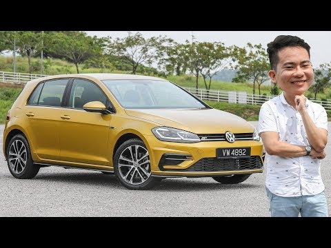 FIRST DRIVE: 2018 Volkswagen Golf 1.4 TSI R-Line Mk7.5 Malaysian review - RM173k
